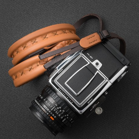 XL Full leather strap for Hasselblad